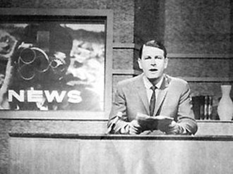 NBN Television - Murray Finlay began his career as one of Australia's longest-serving newsreaders with NBN's first bulletin