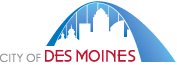 Official logo of Des Moines, Iowa