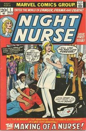 Night Nurse (comics) - Image: Night Nurse cover