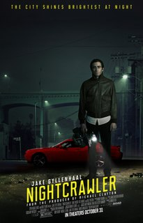 <i>Nightcrawler</i> (film) 2014 film