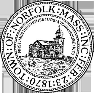 Official seal of Norfolk, Massachusetts