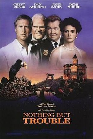 Nothing but Trouble (1991 film) - Theatrical release poster