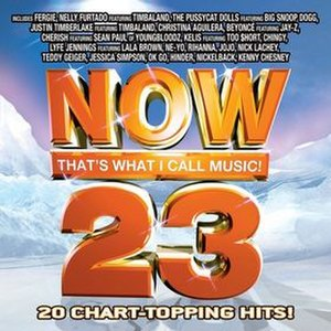 Now That's What I Call Music! 23 (U.S. series) - Image: Now 23 USA