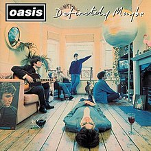 Definitely Maybe - Wikipedia Oasis Band Album Cover