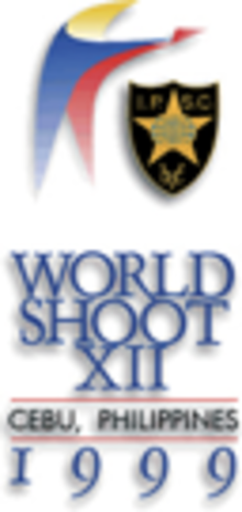 Official logo of the 1999 IPSC Handgun World Shoot.png