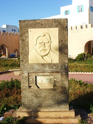 Bust of Orson Welles