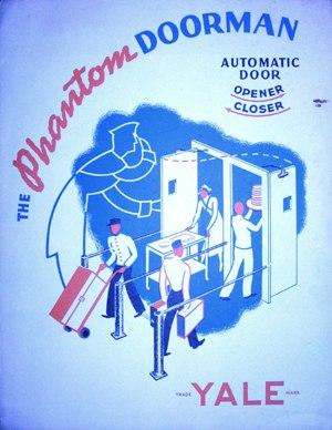George Devol - Phantom Doorman automatic door