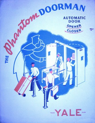 George Devol - Phantom Doorman automatic door