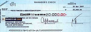 Philippine Check
