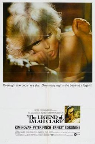 The Legend of Lylah Clare - theatrical poster