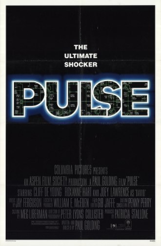 Pulse (1988 film) - Theatrical release poster