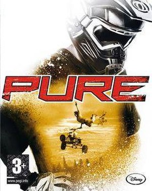 Pure (video game) - European cover art