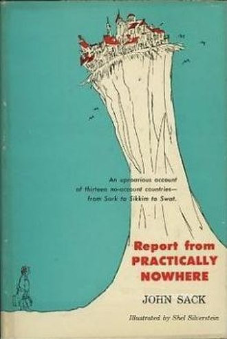 Report from Practically Nowhere - First edition (publ. Harper & Brothers)