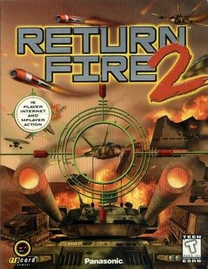 Return Fire 2 - Cover art