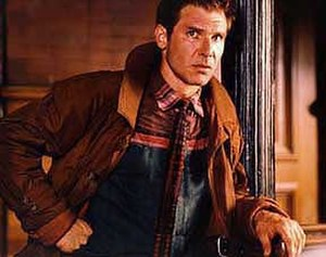 Rick Deckard - Harrison Ford as Rick Deckard in the 1982 film
