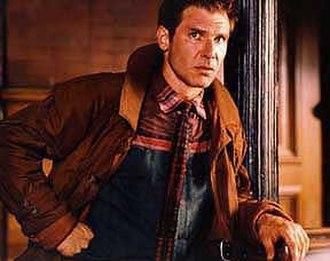 Rick Deckard - Harrison Ford as Rick Deckard in the 1982 film