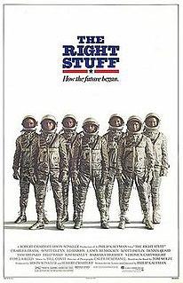 <i>The Right Stuff</i> (film) 1983 film by Philip Kaufman
