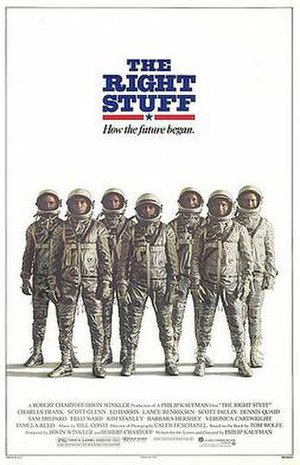 The Right Stuff (film) - Image: Right stuff ver 1