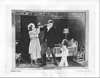 The Right to Love (1920 film) - Lobby card