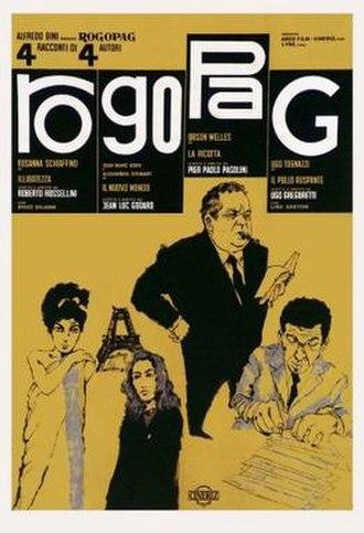 La ricotta - Ro.Go.Pa.G. poster
