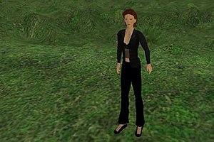 Magic circle (virtual worlds) - Avatar in Second Life