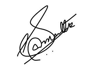 Samantha Akkineni - Image: Samantha Signature