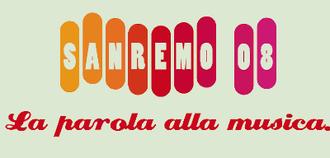 Sanremo Music Festival 2008 - Image: Sanremo Music Festival 2008 logo