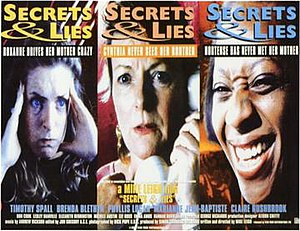 Secrets & Lies (film) - Image: Secrets and lies movie poster 1996 UK