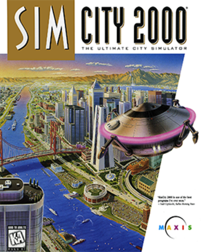 Picture of a game: Simcity 2000