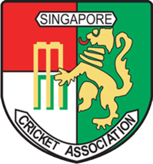 Singapore national cricket team - Flag of Singapore