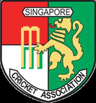 Singapore national cricket team - Flag of Singapore
