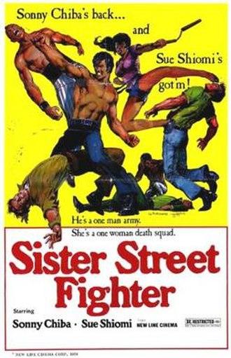 Sister Street Fighter - American film poster