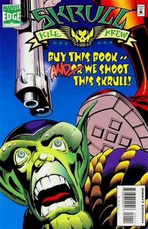 Skrull Kill Krew - Cover of the 1st issue