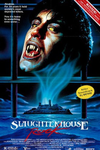 Slaughterhouse Rock - Video release poster