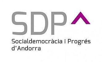 Social Democracy and Progress - Image: Social Democracy and Progress Andorra logo