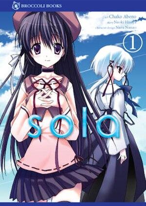 Sola (manga) - Image: Sola manga volume 1