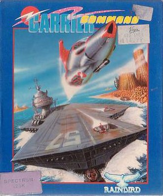 Carrier Command - ZX Spectrum cover art