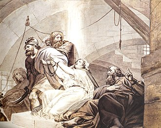 Jude the Apostle - St. Thaddeus, St. Sandukht and other Christians in Sanatruk's prison