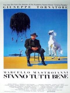 <i>Everybodys Fine</i> (1990 film) 1990 Italian film directed by Giuseppe Tornatore