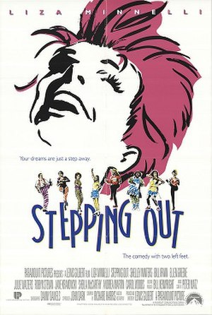 Stepping Out (1991 film) - One-sheet promotional poster