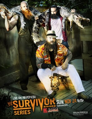 Survivor Series (2013) - Promotional poster featuring The Wyatt Family