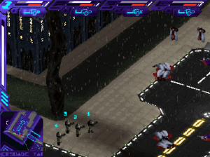Syndicate Wars - Screenshot from in-game combat