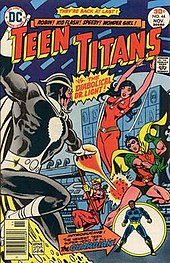Teen titans dc comic sorry, that