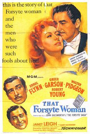 That Forsyte Woman - 1949 theatrical poster