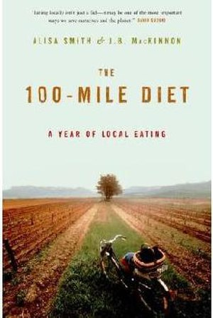 The 100-Mile Diet - First edition cover of Canadian release