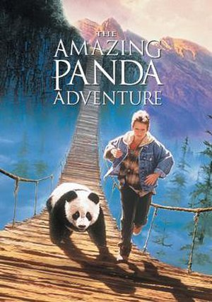 The Amazing Panda Adventure - Theatrical release poster