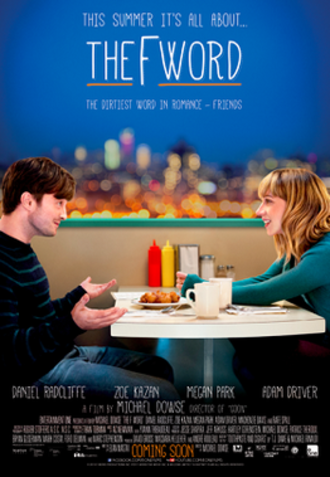 The F Word (2013 film) - Theatrical release poster