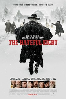 <i>The Hateful Eight</i> 2015 Western film directed by Quentin Tarantino
