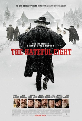 The Hateful Eight - Theatrical release poster