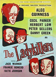 <i>The Ladykillers</i> 1955 crime comedy film directed by Alexander Mackendrick